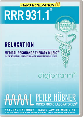 Peter Hübner - RRR 931 Relaxation No. 1