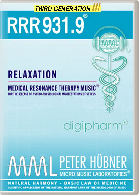 Peter Hübner - RRR 931 Relaxation • No. 9