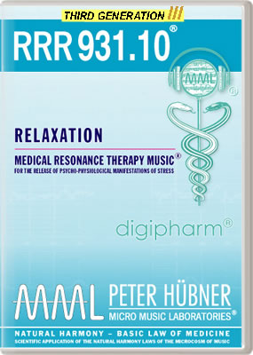 Peter Hübner - RRR 931 Relaxation No. 10