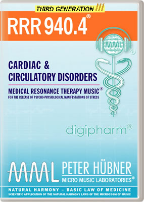 Peter Hübner - RRR 940 Cardiac & Circulatory Disorders • No. 4