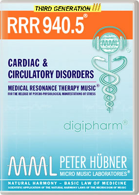 Peter Hübner - RRR 940 Cardiac & Circulatory Disorders • No. 5