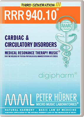 Peter Hübner - RRR 940 Cardiac & Circulatory Disorders • No. 10