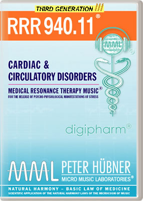Peter Hübner - RRR 940 Cardiac & Circulatory Disorders • No. 11