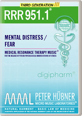 Peter Hübner - RRR 951 Mental Distress / Fear • No. 1