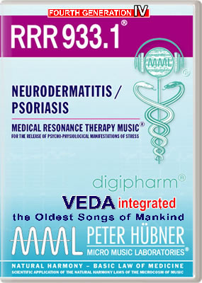 Peter Hübner - RRR 933 Neurodermatitis / Psoriasis • No. 1