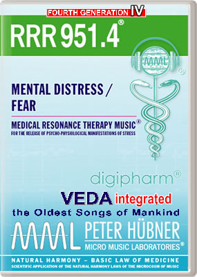 Peter Hübner - RRR 951 Mental Distress / Fear • No. 4