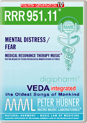 Peter Hübner - RRR 951 Mental Distress / Fear • No. 11