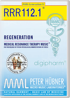 Peter Hübner - REGENERATION<br>RRR 112 • No. 1<br><span style=%22font-size:1.2vw; text-align:center; color:#000066; display:block; margin:0;%22><em>~ without Healing Songs ~</em></span>