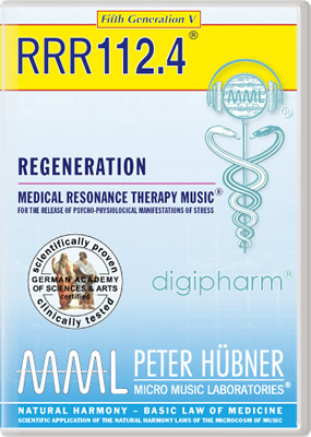 Peter Hübner - REGENERATION<br>RRR 112 • No. 4<br><span style=%22font-size:1.2vw; text-align:center; color:#000066; display:block; margin:0;%22><em>~ without Healing Songs ~</em></span>