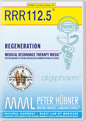 Peter Hübner - REGENERATION<br>RRR 112 • No. 5<br><span style=%22font-size:1.2vw; text-align:center; color:#000066; display:block; margin:0;%22><em>~ without Healing Songs ~</em></span>