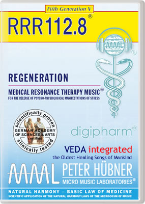 Peter H&uuml;bner - REGENERATION<br>RRR 112 &#8226; No.&nbsp;8<br><span style=%22font-size:2.1vw; color:#000099; text-align:center; display:block; margin:0; font-family:'Play', sans-serif; letter-spacing:2px;%22>VEDA <span style=%22color:red;%22>integrated</span></span><span style=%22font-size:1.4vw; text-align:center; color:#000066; display:block; margin:0;%22><em>~ The Oldest Healing Songs of Mankind ~</em></span>