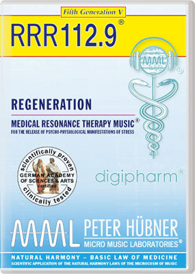 Peter Hübner - REGENERATION<br>RRR 112 • No. 9<br><span style=%22font-size:1.2vw; text-align:center; color:#000066; display:block; margin:0;%22><em>~ without Healing Songs ~</em></span>