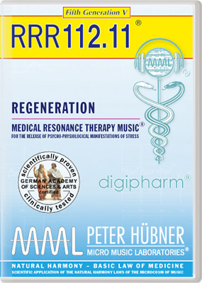 Peter Hübner - REGENERATION<br>RRR 112 • No. 11<br><span style=%22font-size:1.2vw; text-align:center; color:#000066; display:block; margin:0;%22><em>~ without Healing Songs ~</em></span>