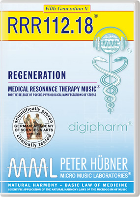 Peter H&uuml;bner - REGENERATION<br>RRR 112 &#8226; No.&nbsp;18<br><span style=%22font-size:1.2vw; text-align:center; color:#000066; display:block; margin:0;%22><em>~ without Healing Songs ~</em></span>