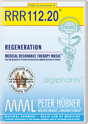 Peter H&uuml;bner - REGENERATION<br>RRR 112 &#8226; No.&nbsp;20<br><span style=%22font-size:1.2vw; text-align:center; color:#000066; display:block; margin:0;%22><em>~ without Healing Songs ~</em></span>