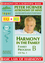 Peter Hübner - Harmony in the Family B - CD No. 1